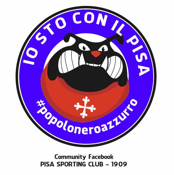Logo Io Sto Con Il Pisa